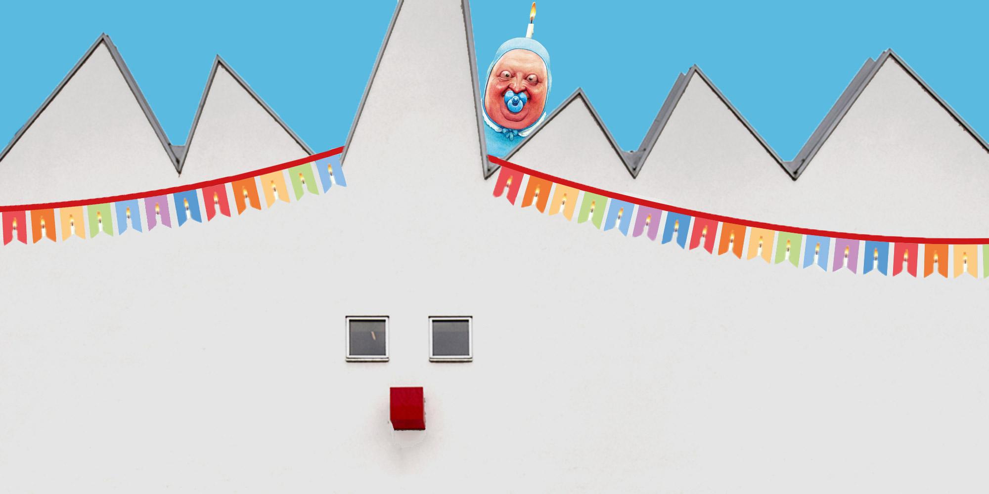 Packen Sie ihr Festtagslachen ein, denn am 26. Juni feiern wir mit einem kostenlosen Besucher*innentag den 20. Geburtstag des Karikaturmuseum Krems.