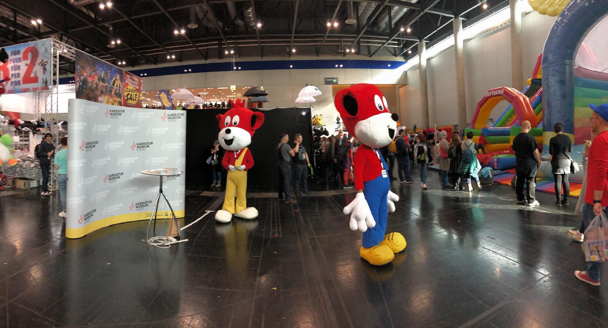 Vergangenes Wochenende war die VIECC - Vienna Comic Con in Wien und wir waren mit Fix & Foxi mit dabei.